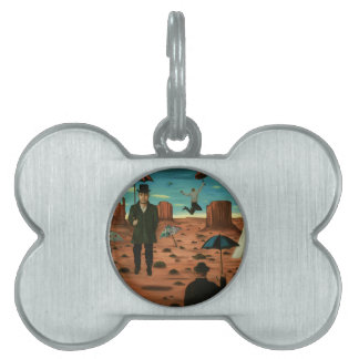 spirits of the flying umbrellas pet name tag
