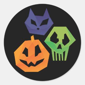 Spirits of the Night Classic Round Sticker