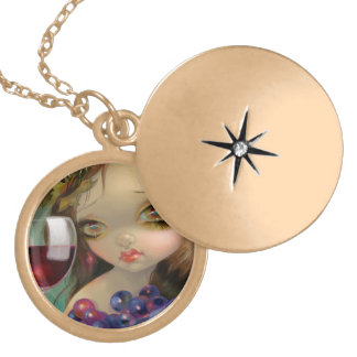 """Spirits of the Vine: Merlot"" Locket"
