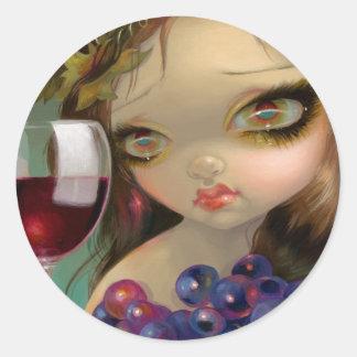 """Spirits of the Vine: Merlot"" Sticker"