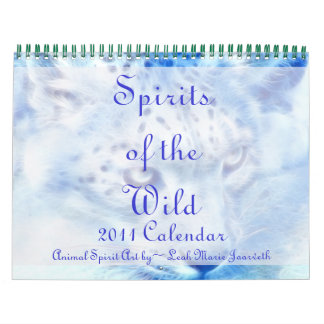 Spirits of the Wild 2011 Animal Calendar