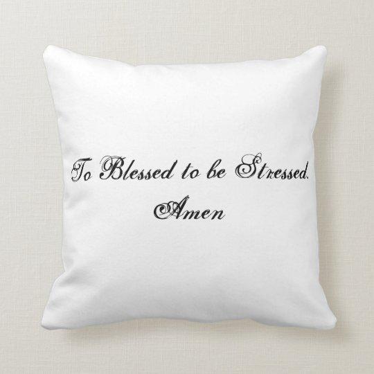 Spiritual Advice Mingled with Real Life Throw Pillow