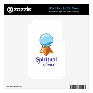 SPIRITUAL ADVISOR iPod TOUCH 4G DECAL
