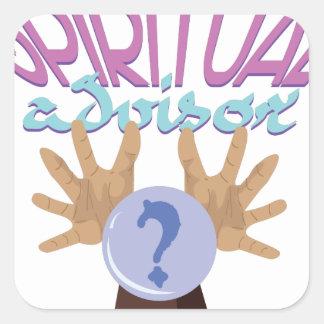 Spiritual Advisor Square Sticker