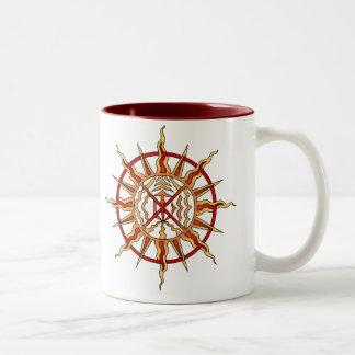 Spiritual Art Coffee Cup Native Art Life Force Mug