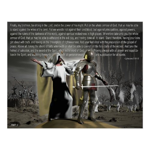 Spiritual Battles print