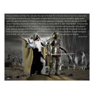 Spiritual Battles Poster