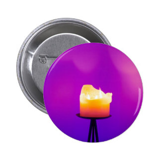 Spiritual Candle Pinback Button