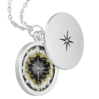 Spiritual Compass Sterling Silver Necklace