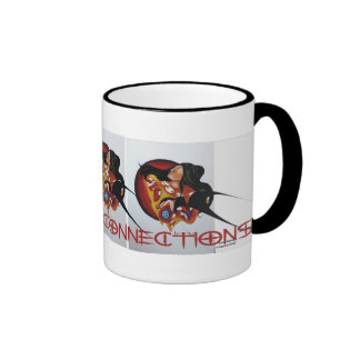 spiritual connections ringer coffee mug