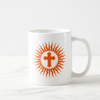 Spiritual Cross Design Mugs
