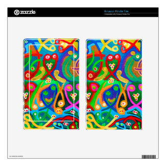Spiritual Dance FineArt Decals For Kindle Fire