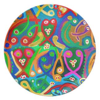 Spiritual Dance FineArt Dinner Plate