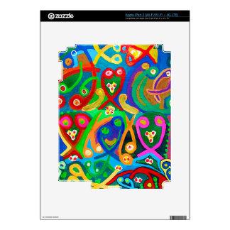 Spiritual Dance FineArt Skins For iPad 3