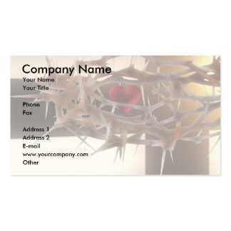 Spiritual Design Double-Sided Standard Business Cards (Pack Of 100)