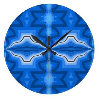 Spiritual Energy Mingle opens a path Large Clock