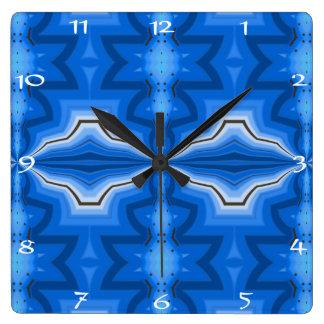 Spiritual Energy Mingle opens a path Square Wall Clock
