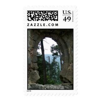Spiritual Fish Postage Stamp