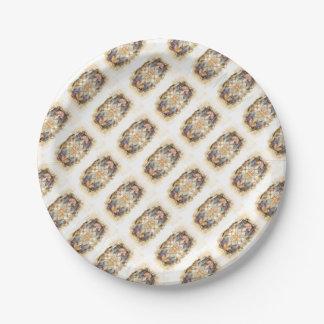 spiritual GALAXY Paper Plate