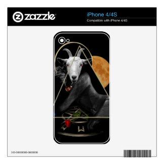 Spiritual goat iPhone 4S decal