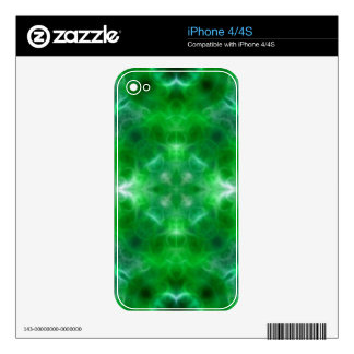 Spiritual growth and health decal for iPhone 4