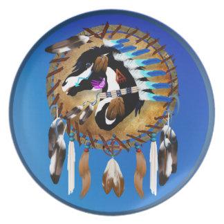 Spiritual Horse Plate