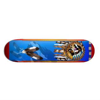 Spiritual Horse Skateboard Deck