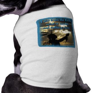 Spiritual Indian Dog T Shirt