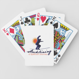 Spiritual Journey Bicycle Playing Cards