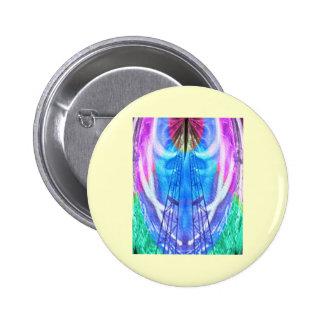 Spiritual Journey - HIS words provide LADDER 2 Inch Round Button