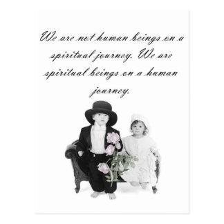 Spiritual Journey Postcard