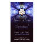 Spiritual Light Fractal w/ Logo Business Card