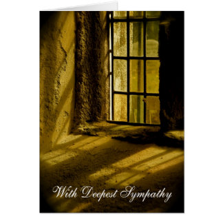 Spiritual Light | With Deepest Sympathy Card
