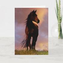 Spiritual Loss of Horse Sympathy Card