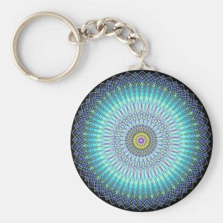 Spiritual Mandala Gifts Basic Round Button Keychain