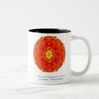 Spiritual Nirvana Two-Tone Coffee Mug