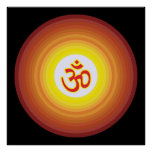 Spiritual Om Design Poster