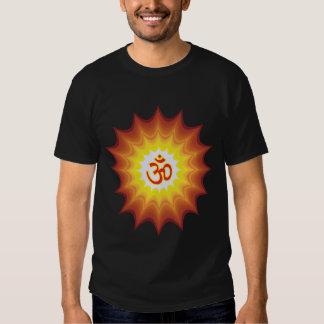 Spiritual Om Design T Shirt