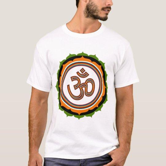 Spiritual Om Lotus Sign T-Shirt
