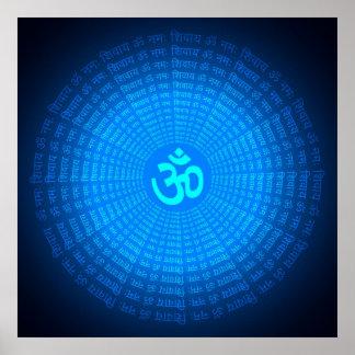 Spiritual Om Poster