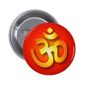 Spiritual Om Sign 2 Inch Round Button