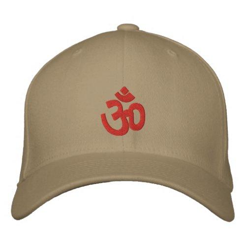 Spiritual Om Sign Embroidered Baseball Cap