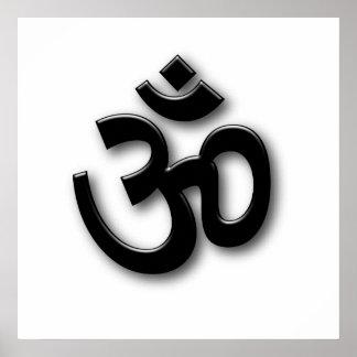 Spiritual Om Sign Print