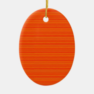 Spiritual Orange : Add GREETING Text or buy plain Ornament