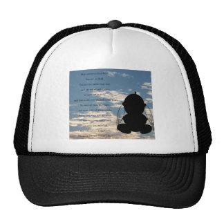 Spiritual Poem Mesh Hats