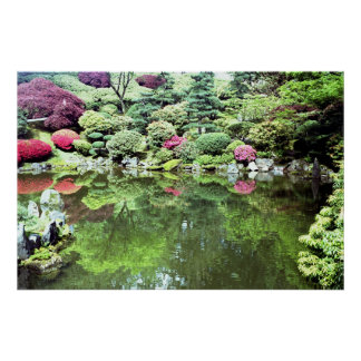 Spiritual Pond Print