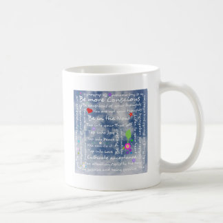 Spiritual positive affirmations classic white coffee mug