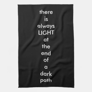 Spiritual Quote Hand Towel