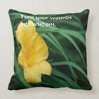 Spiritual Quote Throw Pillow