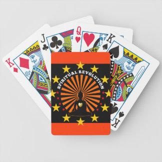 Spiritual revolution playing cards